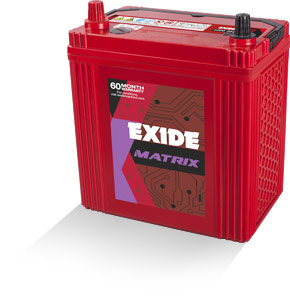 Exide Matrix Mt70d23l 68Ah Battery