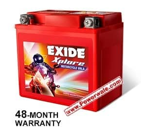 Exide Xplore Xltz5 4Ah Battery