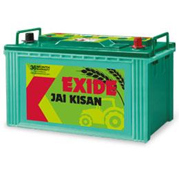 Exide Jai Kissan Ki88tlh 88ah Tractor Battery Buy Exide