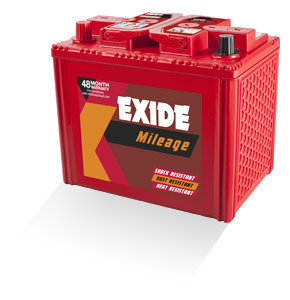 Exide Mileage Mi700l 65Ah Battery
