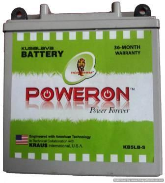 Poweron Kb5l-B 5Ah Sealed Battery
