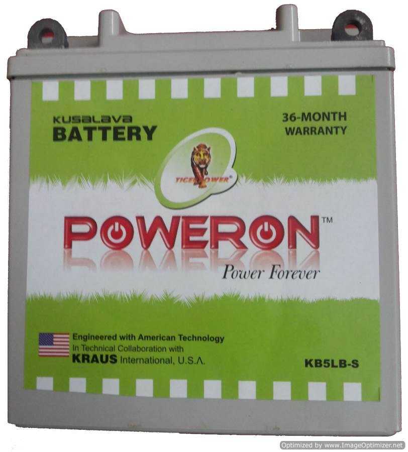 Poweron Kb4l-B 4Ah Sealed Battery