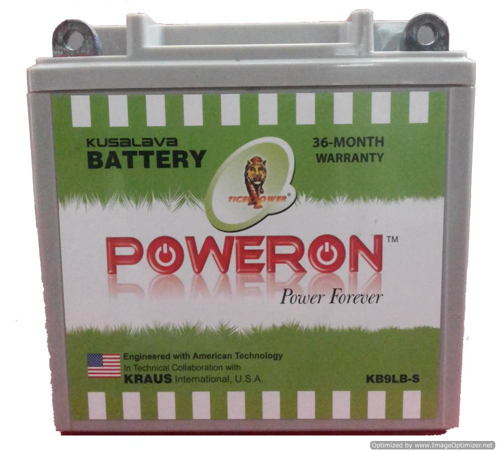 Poweron Kb9l-B 9Ah Sealed Battery