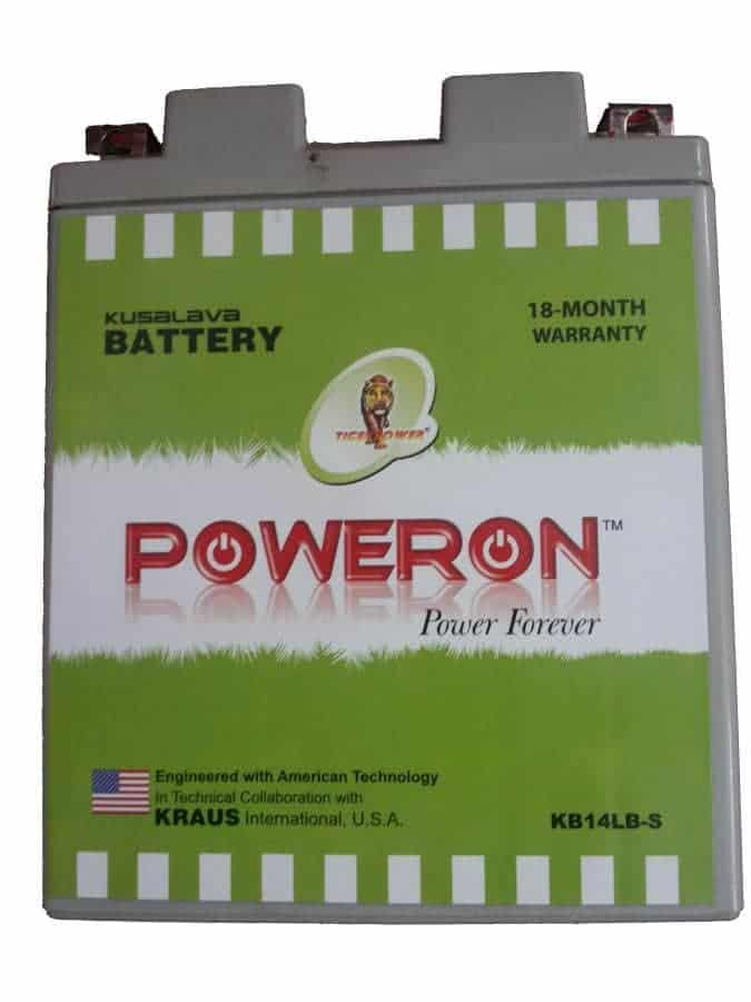 Poweron Kb14l-B 14Ah Sealed Battery