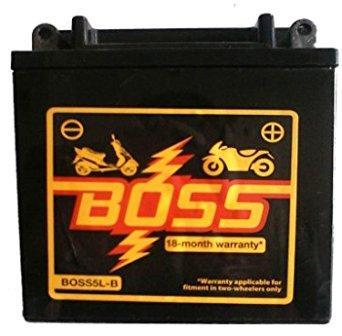 Exide Boss 5L-B 5Ah Vrla Dry Battery