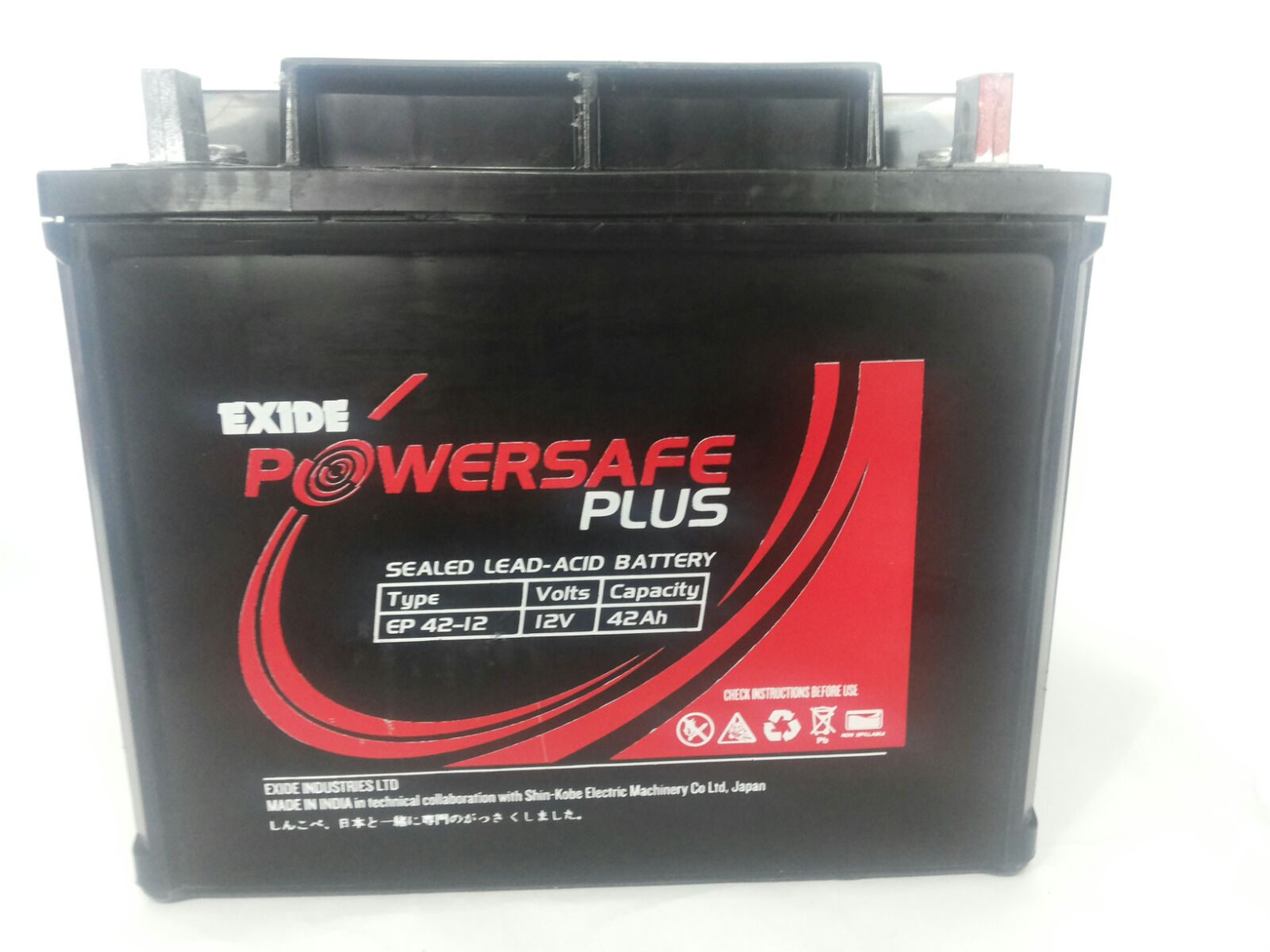 Exide Powersafe Plus Ep 42-12 12V 42Ah Battery