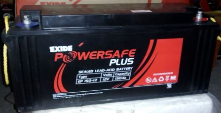 EXIDE POWERSAFE PLUS EP 150-12 12V 150AH BATTERY