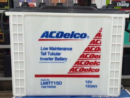 Acdelco 12V 150Ah 60 Months Tall Tubular Inverter Battery Lmitt150