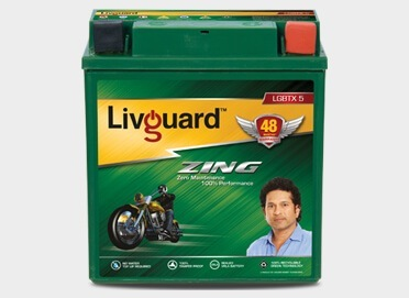 Livguard Zing Lgbtx 5 Two Wheeler Battery