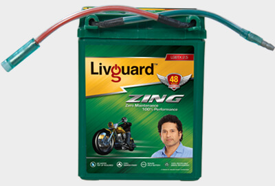 Livguard Zing Lgbtx 2.5 Two Wheeler Battery