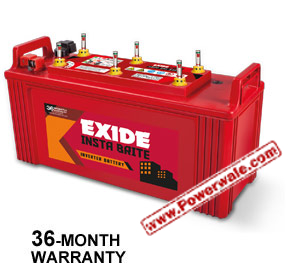 Exide Instabrite Ib1000 12V 100Ah Inverter Battery