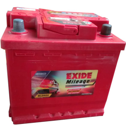 EXIDE MILEAGE RED MREDDIN50 50AH BATTERY