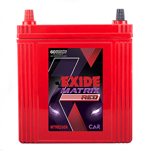 EXIDE MATRIX RED 35AH BATTERY MTRED35R