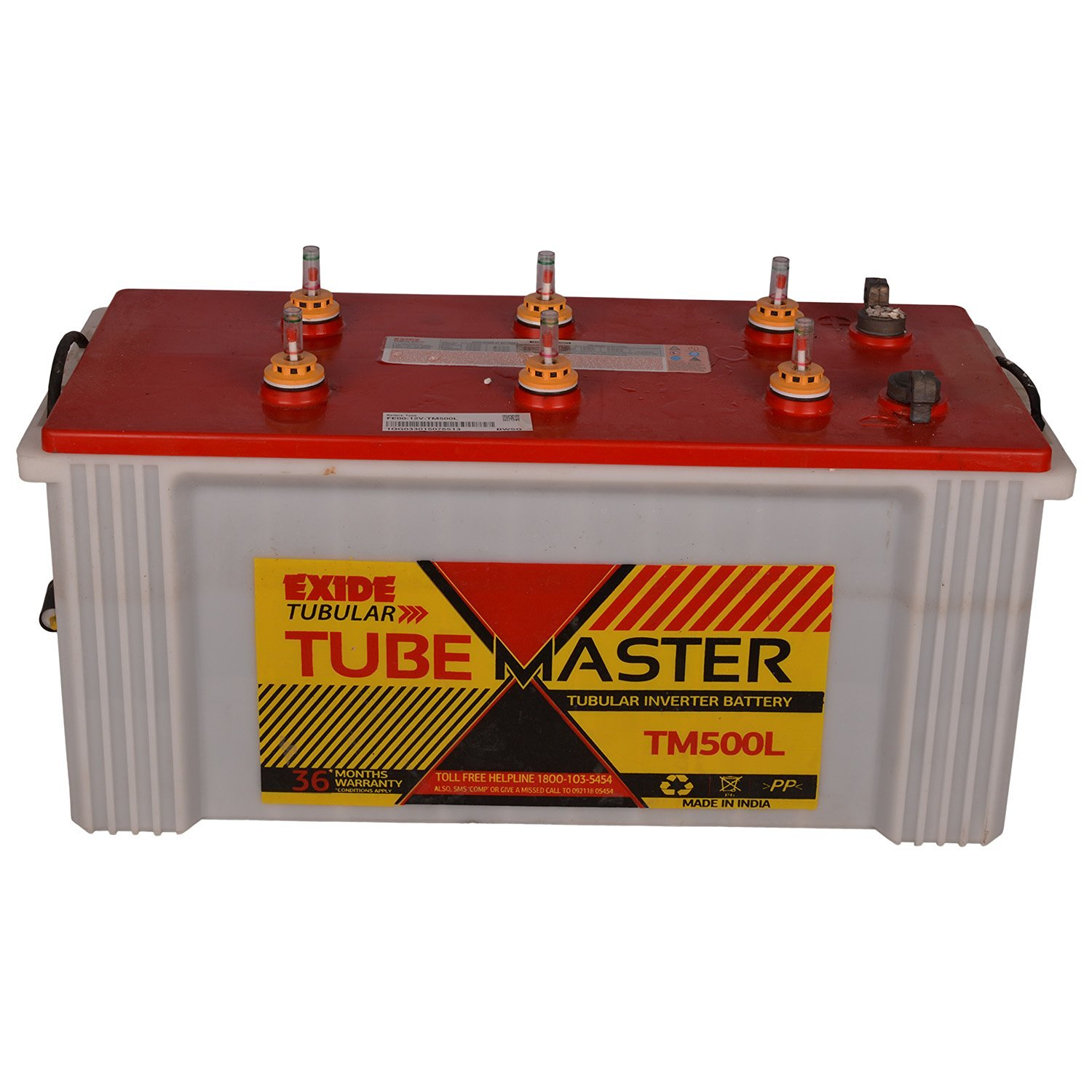 Exide 150Ah Tube Master Tm500l Plus Tubular Inverter Battery