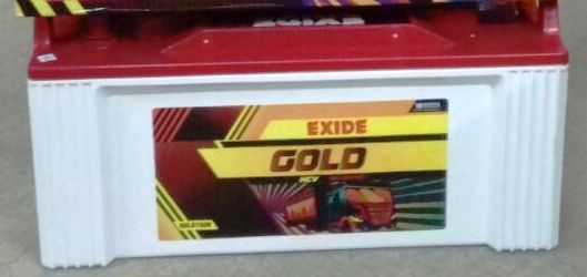 EXIDE GOLD100L MAINTENANCE FREE 100AH BATTERY