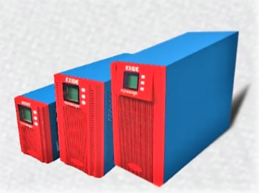 EXIDE POWER NXT ONLINE 2KVA 96V UPS WITH INBUILT 7AH BATTERY SYSTEM