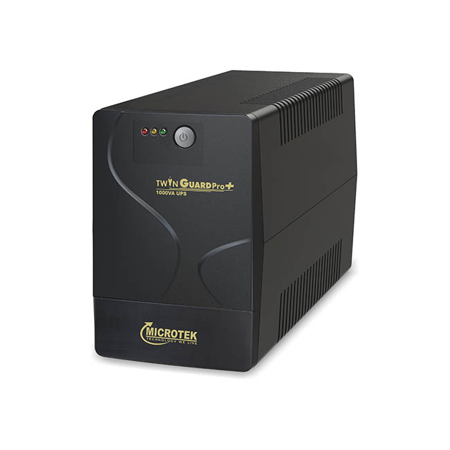 MICROTEK TWIN GUARD PRO+ 1000VA UPS WITH INBUILT BATTERY