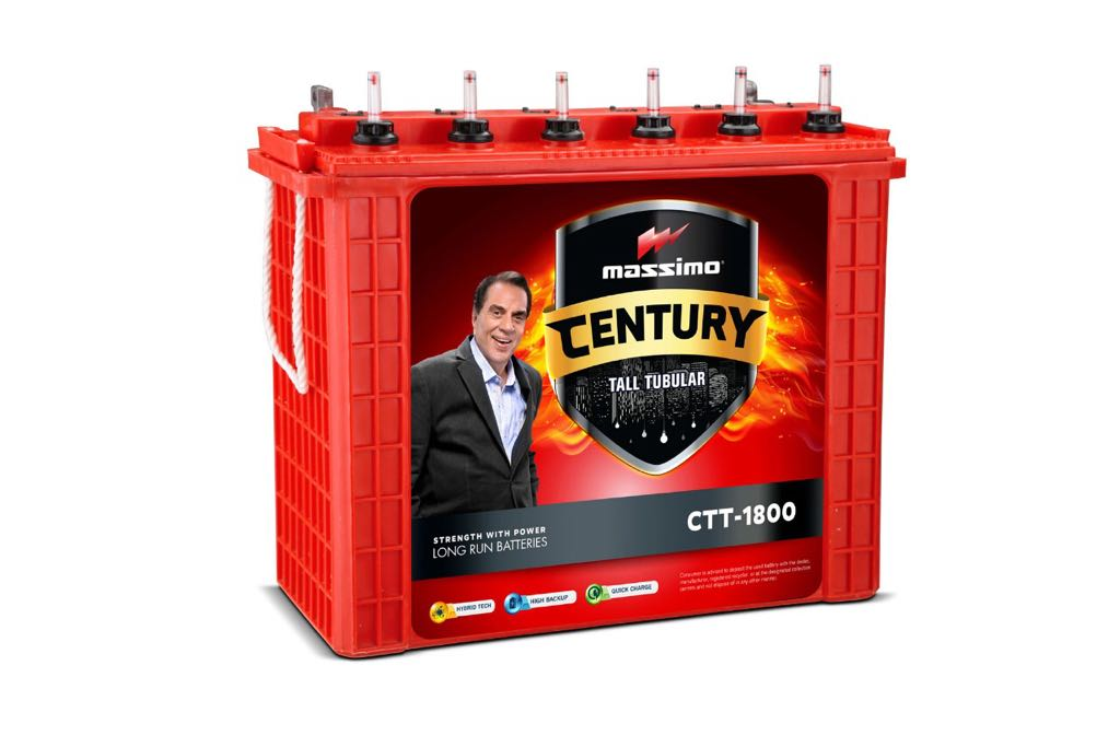 Massimo Century Tall Tubular Mct 2500 200Ah Battery