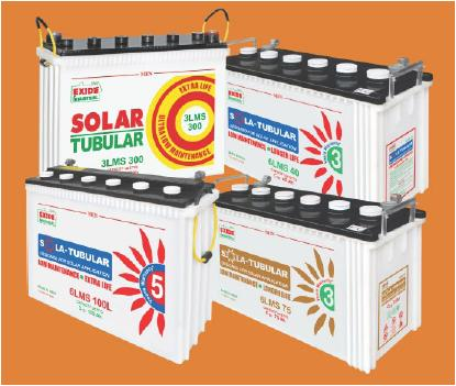 Exide 6LMS75 SOLAR BATTERIES