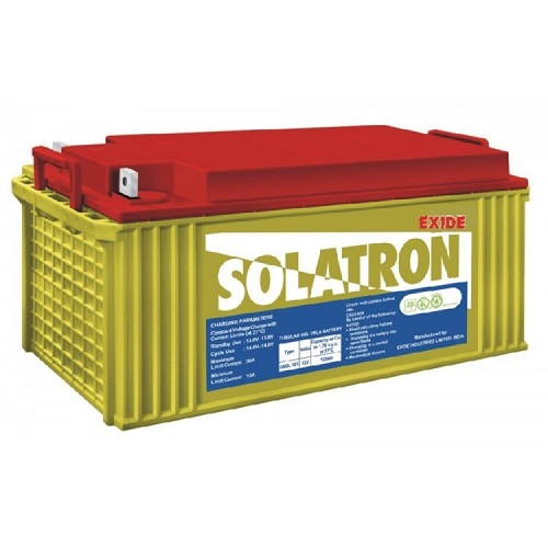 Exide Solatron 6SGL150 GEL BATTERY