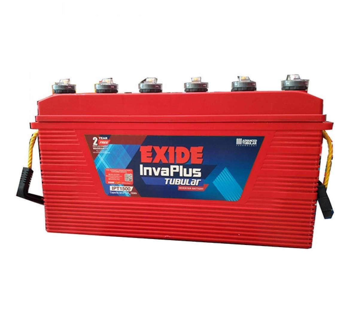Exide Invaplus IPST1500 150Ah Tubular Battery