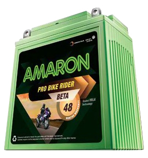 Amaron BETA 2 2.5Ah Sealed Bike Battery