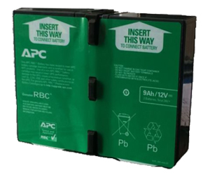 APC BR1000G-IN 1500G-IN RBC144 Battery Cartridge 12V 9AH