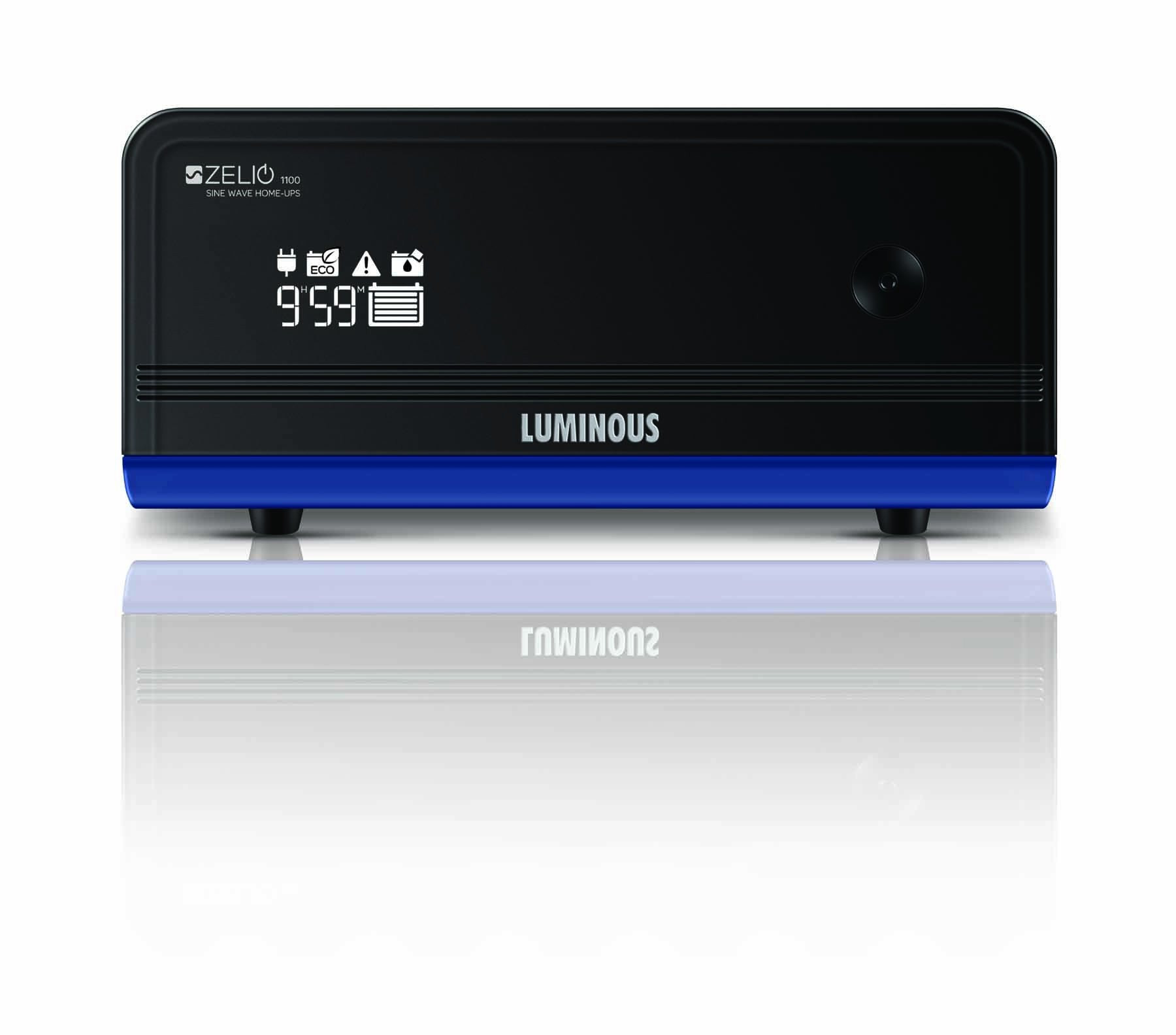 Luminous Zelio 1100va+ Home UPS Inverter Pure Sinewave 2 Years warranty