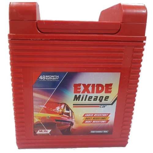 EXIDE MILEAGE ML35L 35Ah Battery