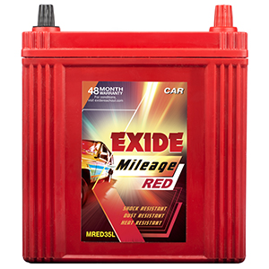 EXIDE MILEAGE RED MRED35L 35Ah Battery
