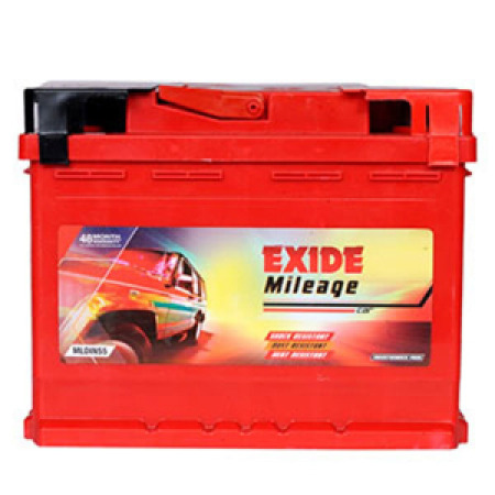 EXIDE MILEAGE MLDIN55 55Ah Battery