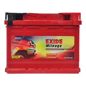 EXIDE MILEAGE MLDIN60 60Ah Battery