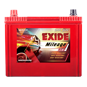 EXIDE MILEAGE RED MRED80D26R 65Ah Battery