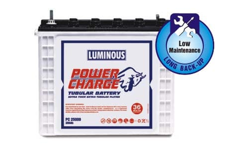 Luminous Power charge PC 25000 200AH Battery
