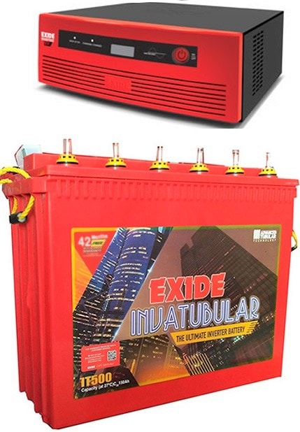 Exide 1050VA Home UPS with IT 500 150AH Tall Tubular Battery