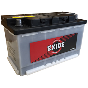 Exide MF DIN 80 OE 80AH Battery