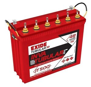 Exide Inva Tubular IT 850 230AH Tall Tubular Battery