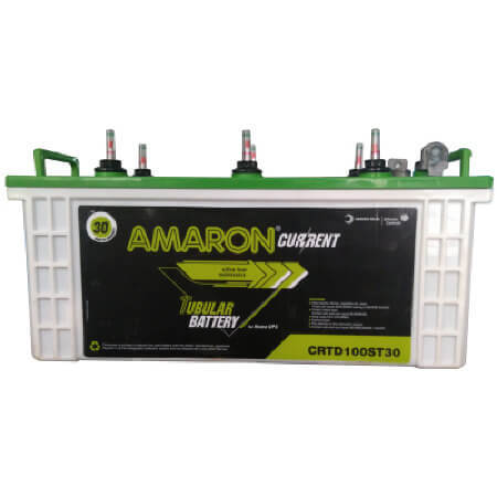 Amaron Current AAM-CR-TD100ST30 100AH Tubular Battery