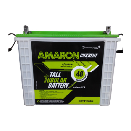 Amaron Current AAM-CR-CRTT180 12V 180AH Tall Tubular Battery