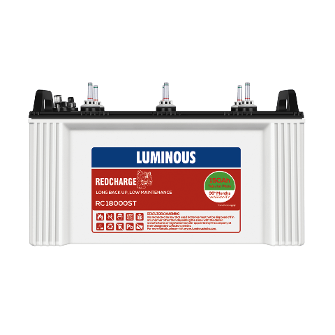 Luminous Red Charge RC 18000ST 150AH Tubular Battery