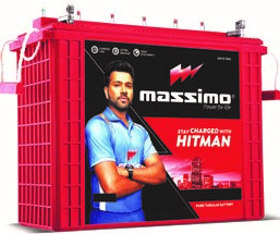 Massimo Tall Tubular MIT 1800 150AH Battery