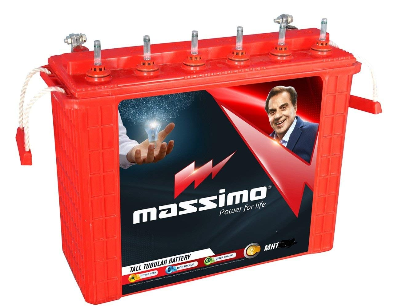 Massimo Tall Tubular MIT 2000 180AH Battery
