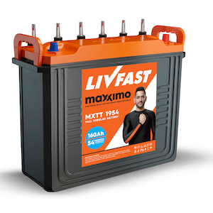 Livfast Maxximo MXTT 1954 160AH Inverter Battery