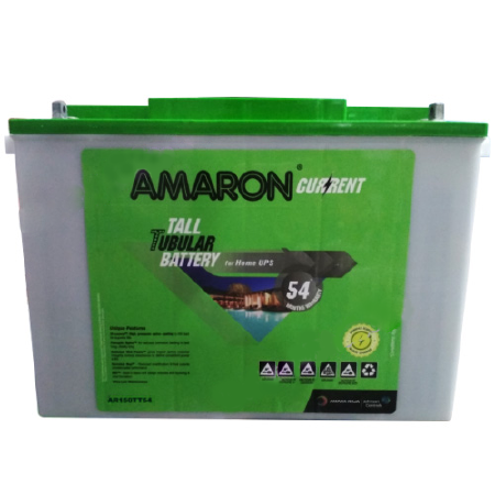 Amaron Current AR150TT54 150AH Tall Tubular Battery