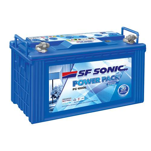 SF SONIC POWER PACK PC1000L 12V 100AH Inverter Battery