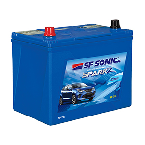 SF Sonic SparkZ FSP8 SP 70L 65 AH Battery