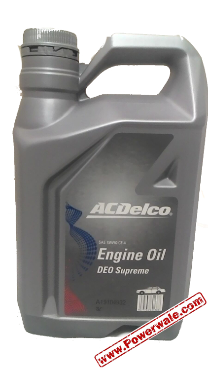 Acdelco Oil 15w40 Sae Cf 4 Multipurpose Oil Buy Acdelco